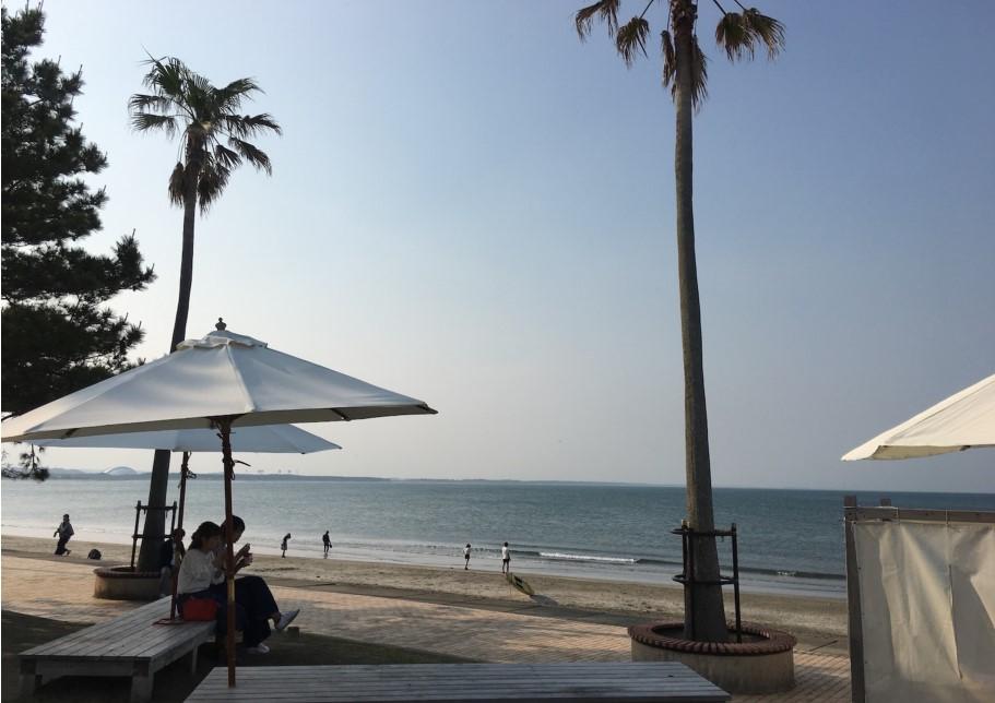 ビーチサイドを味わいつくそう!「Aoshima Beach Park」2