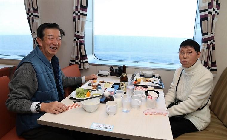 苫小牧行きで出会った人たち #3 「夫婦ふたりで船旅を楽しむこと数百回」1