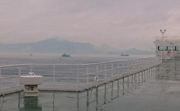 【17:30】第三の絶景ポイント「来島海峡大橋」!3
