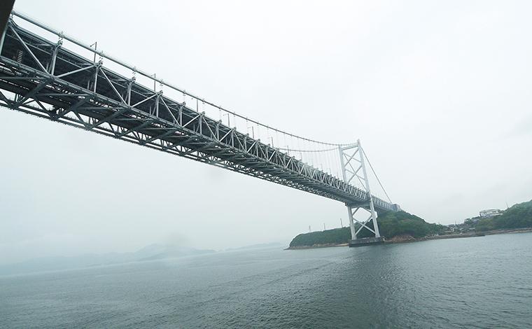 【15:00】第二の絶景ポイント「瀬戸大橋」!1
