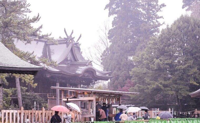 絶景ドライブの後は阿蘇神社&門前仲町散策でランチもどうぞ1