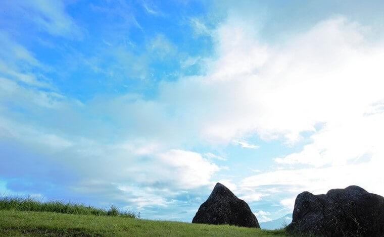 個人的にも大好きな絶景スポット、押戸石の丘2