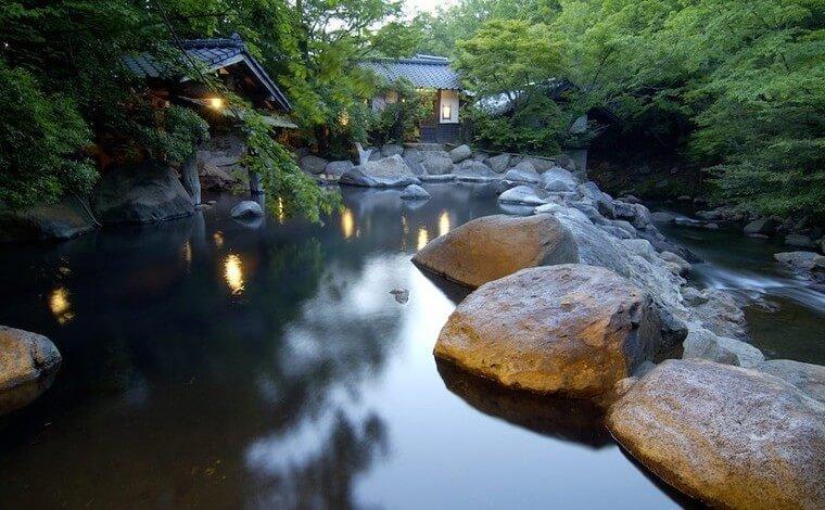 初日の宿泊はやっぱり、黒川温泉がオススメです!3