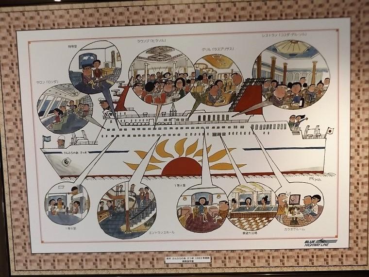 ブルーハイウェイラインの歴史を継承する船1