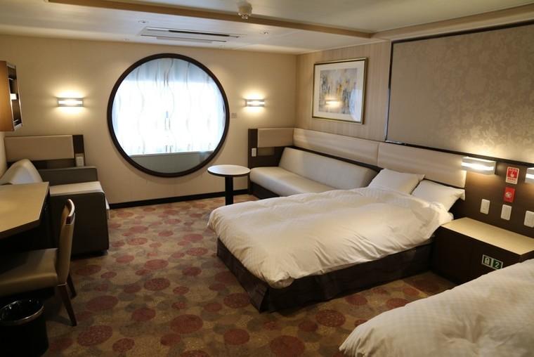 部屋は専用バルコニー付きからバリアフリー、くまモン仕様まで3