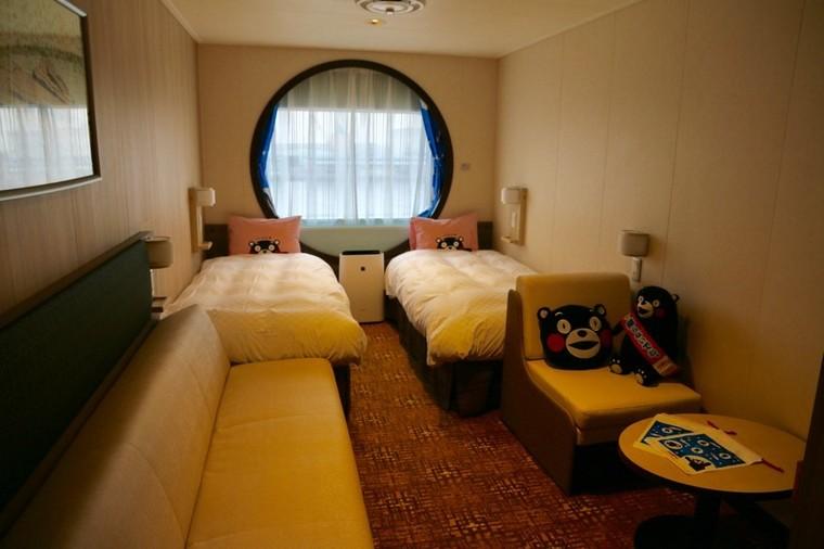 部屋は専用バルコニー付きからバリアフリー、くまモン仕様まで6