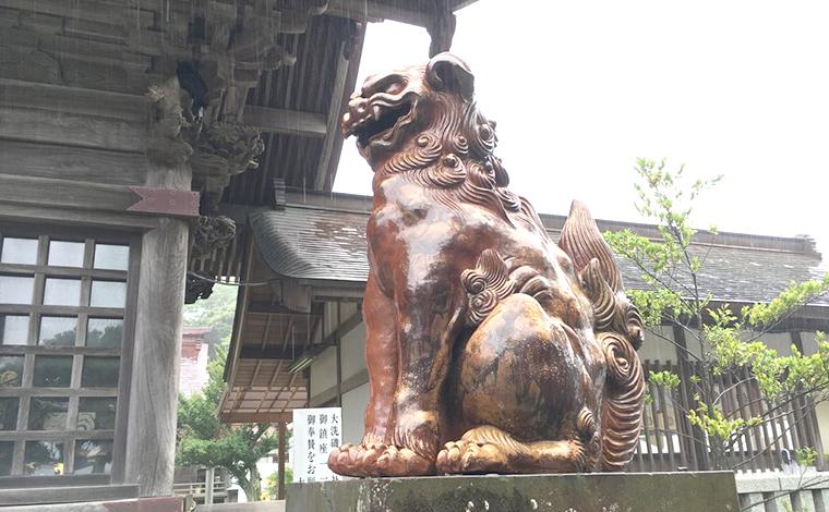1200年近い歴史を持つ「大洗磯前神社」と、「神磯の鳥居」4
