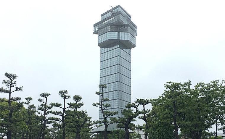 町のシンボル「大洗マリンタワー」1