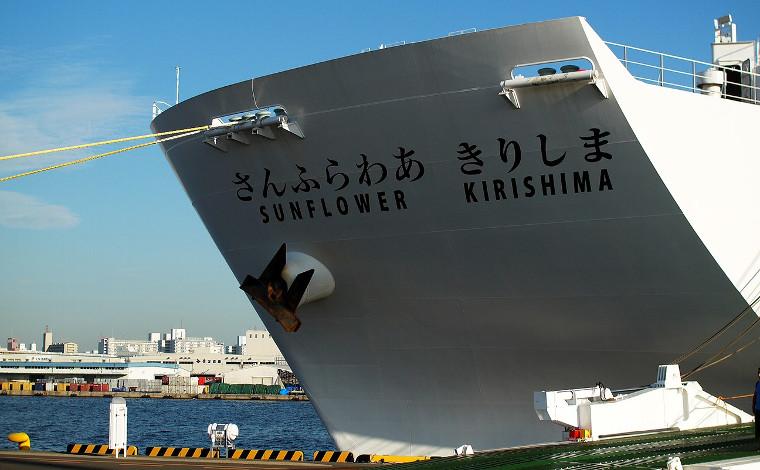 ピッカピカの「さんふらわあ きりしま」に乗って、大阪・南港から鹿児島・志布志へ1