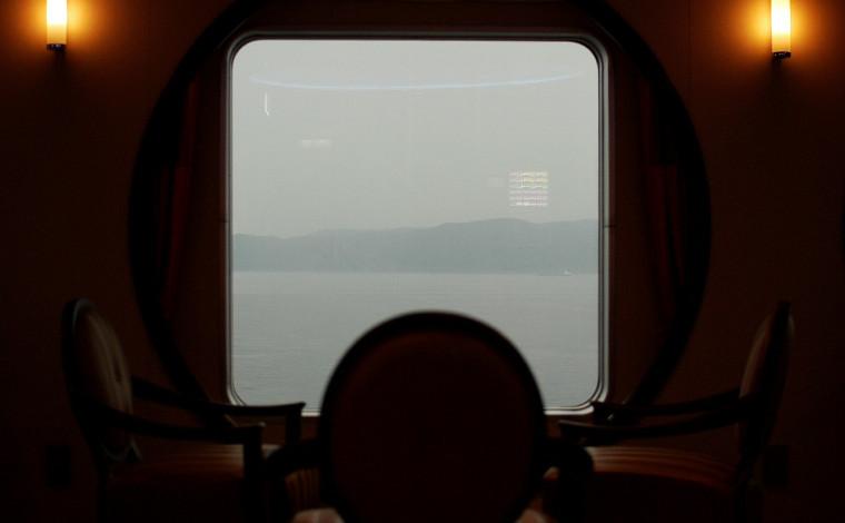 志布志到着。目覚めれば大雨…めげずに桜島を見に行こう!1