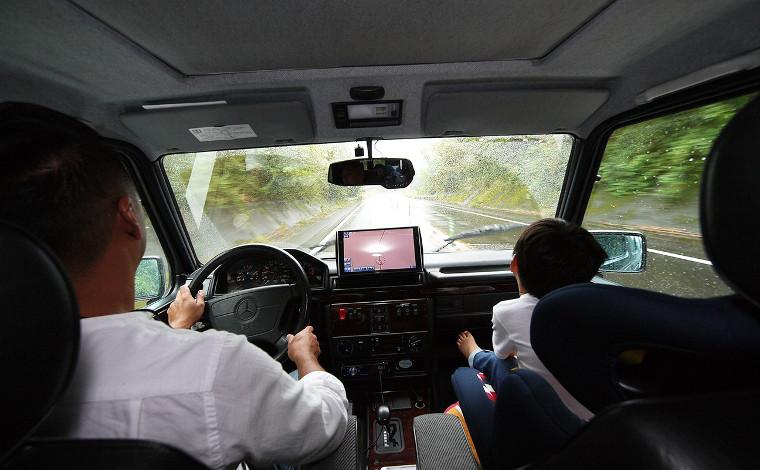 志布志到着。目覚めれば大雨…めげずに桜島を見に行こう!2