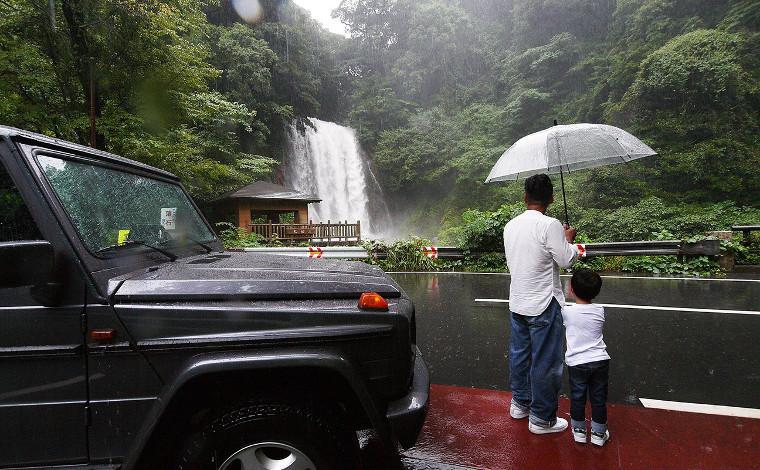桜島を眺めながら浸かれる露天風呂温泉「天テラス」4