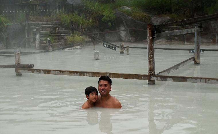 旅の締めくくりは泥温泉でひと皮むけよう!2