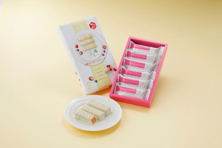 ISHIYAの期間限定商品「美冬(みふゆ)3種のベリーとチーズ」2