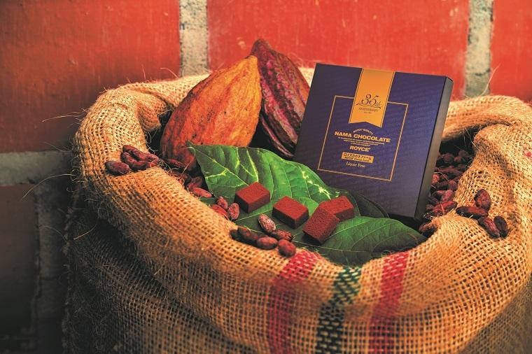 ロイズの創業35周年記念限定商品「生チョコレート ロイズカカオファーム」1