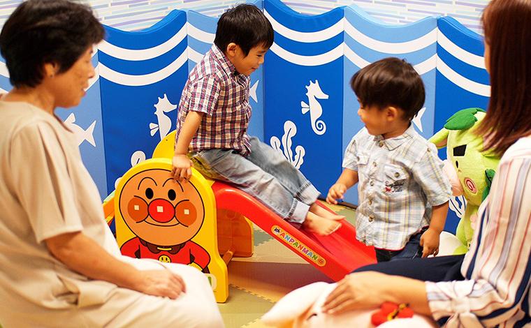 遊び場が多くて子供たちもゴキゲン!2