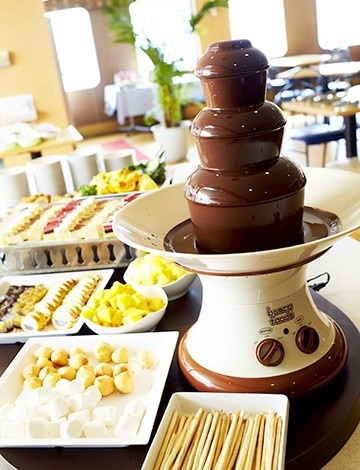 チョコレートファウンテンもあるレストラン4