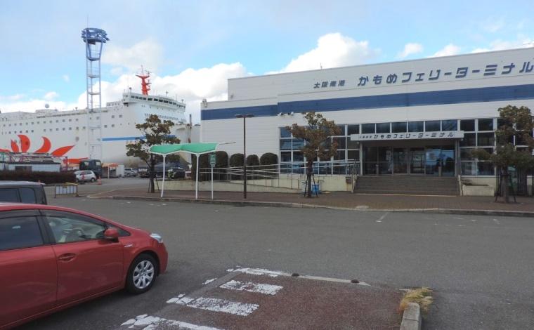大阪南港かもめフェリーターミナル1
