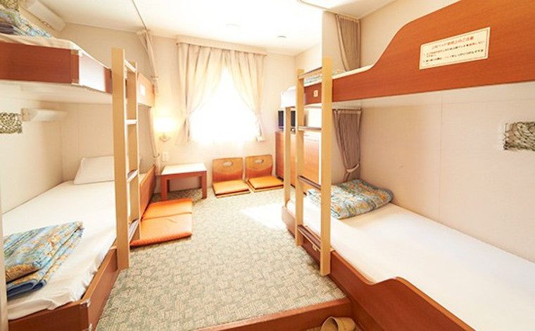 関西―九州の各航路には女子旅にうってつけの部屋も!1