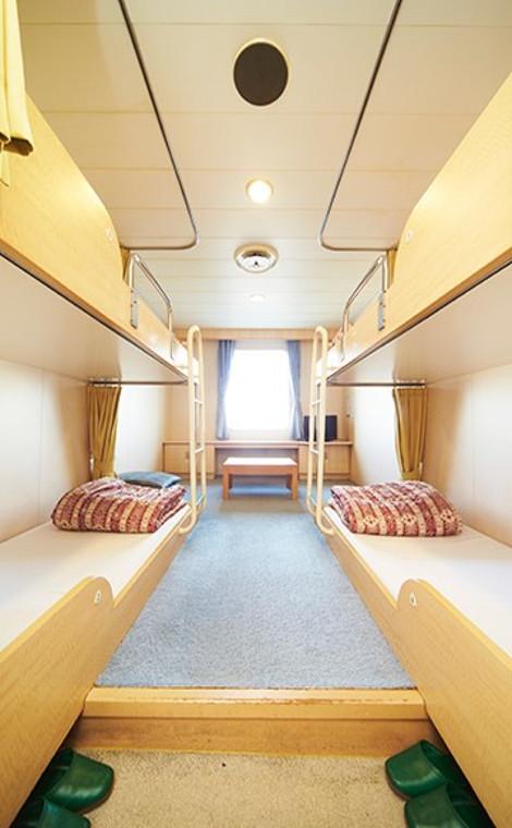 関西―九州の各航路には女子旅にうってつけの部屋も!3