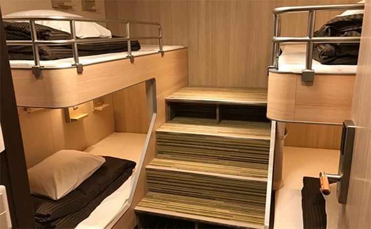 関西―九州の各航路には女子旅にうってつけの部屋も!6