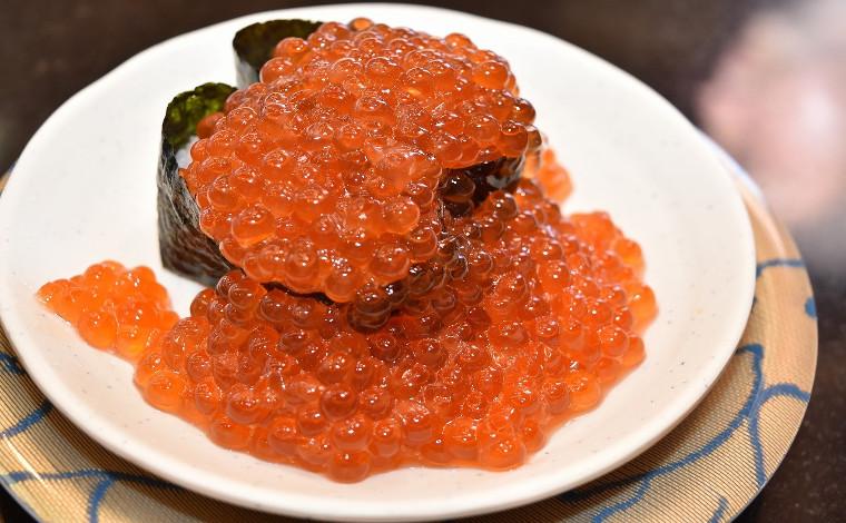 「回転寿司 なごやか亭」 こぼれいくらが有名な釧路生まれのお店3