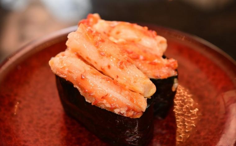 「回転寿司 なごやか亭」 こぼれいくらが有名な釧路生まれのお店8