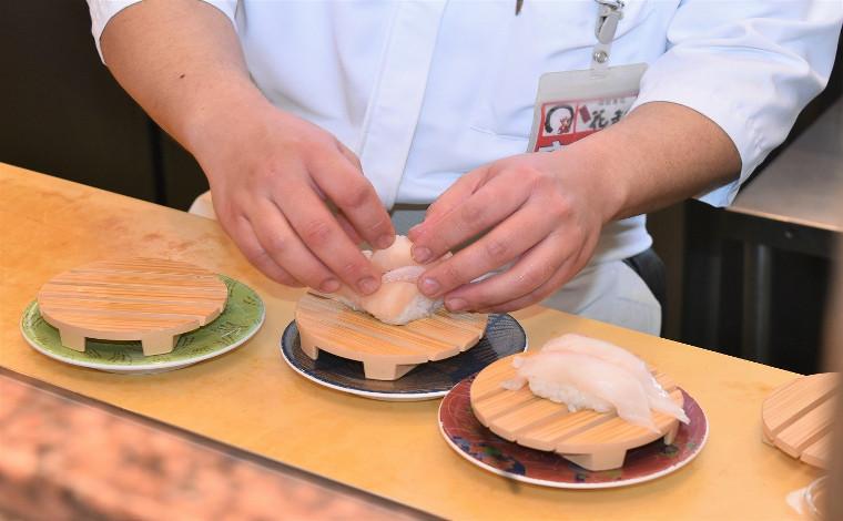 「回転寿司 根室花まる」 ネタも店内も根室の味にこだわる!2
