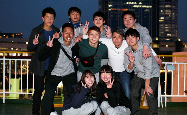 語り合うからフェリー!兵庫県K高校ラグビー部のみなさん 「卒業旅行で一生の思い出づくりを!」1
