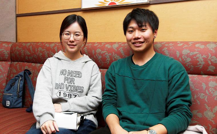 学生だからフェリー!入田理央さん・エブリンさん 「大阪と九州のホットラインは留学生にも人気!」1