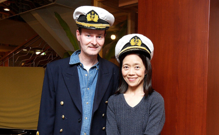 国際結婚だからフェリー!松永さん夫妻 「外国人、日本の良さを「さんふらわあ」で知る!」2