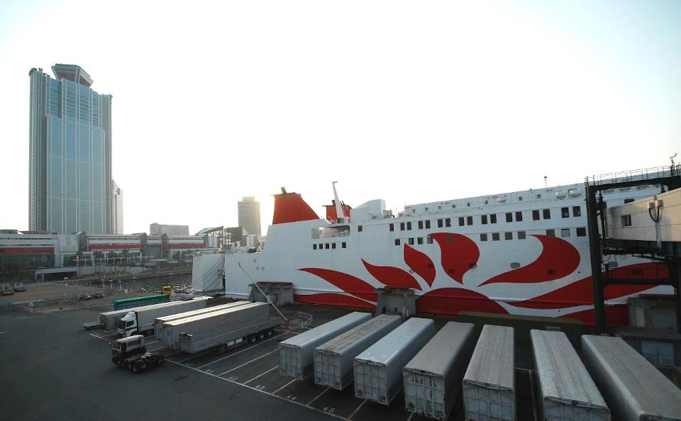 第2回 日本最大級のフェリーターミナル「大阪南港」を徹底ガイド