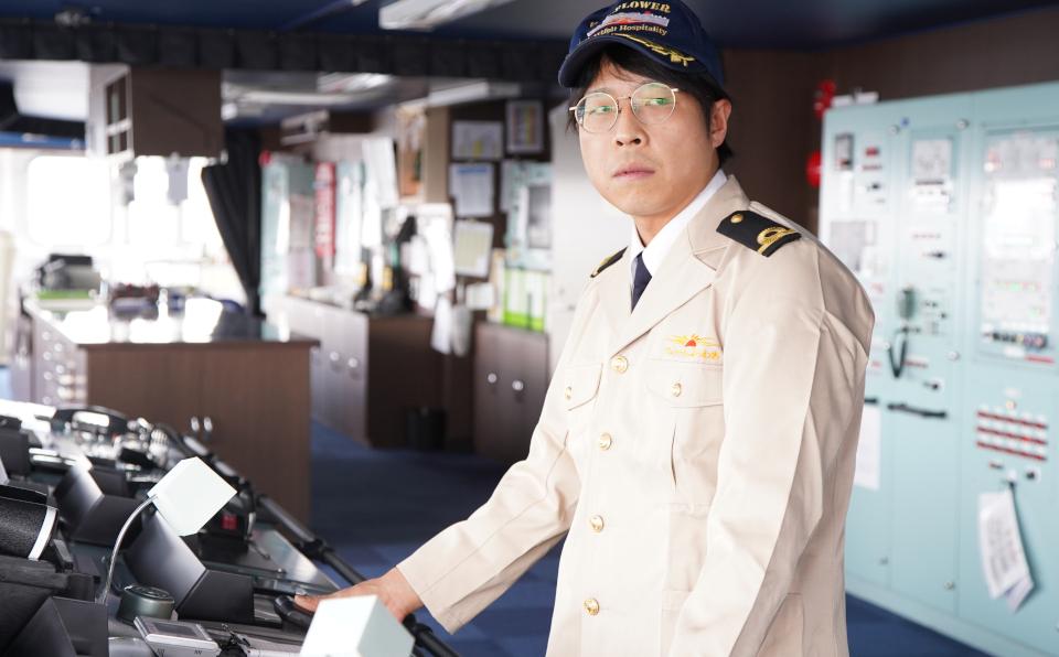 甲板部員から航海士に。さらなるステップアップを目指す日々