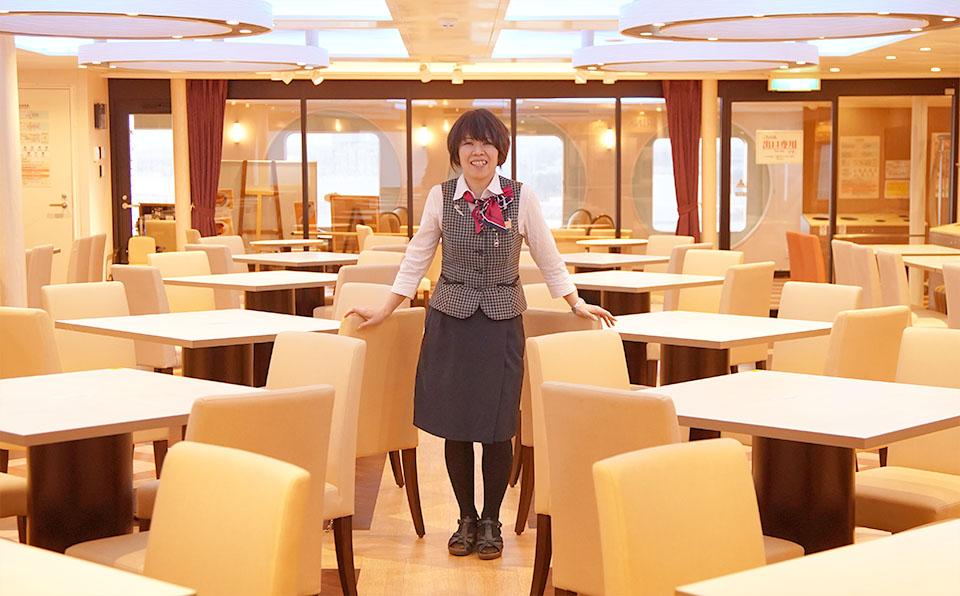 「ありがとう」が原動力に! 美味しい食事と笑顔をつなぐ司厨長のお仕事