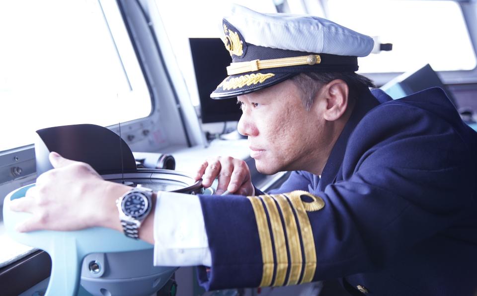 『宇宙戦艦ヤマト』に憧れて船長に。毎回違う海象を読み、操船技術を磨く
