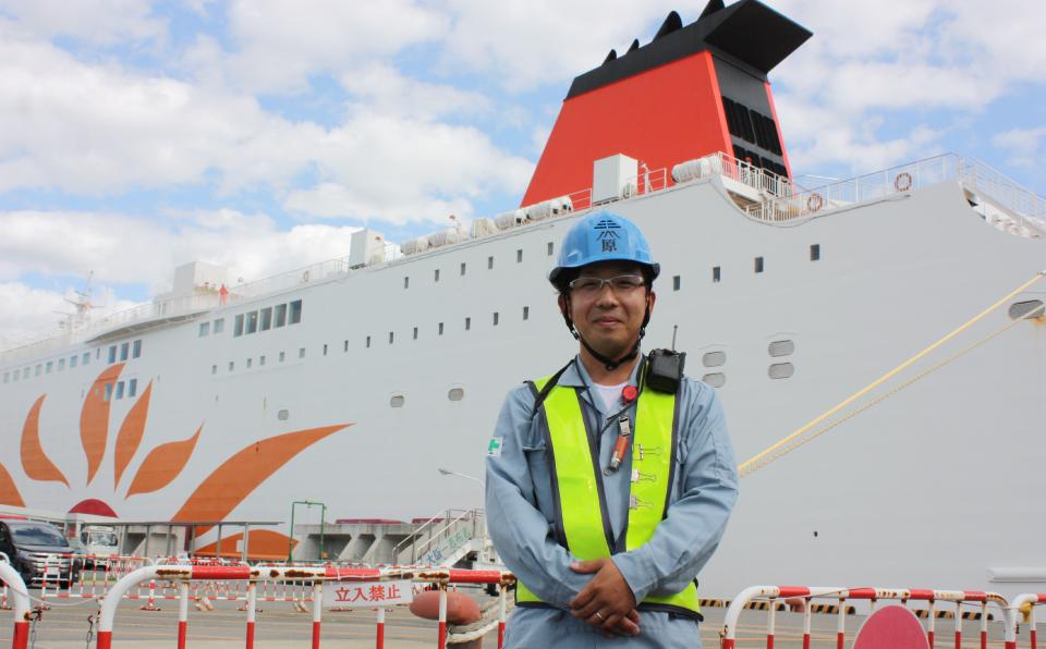 港で働くスタッフインタビュー Vol.3