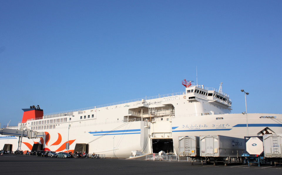 安心なフェリーに乗って国内旅行を楽しもう!快適「さんふらわあ」で北海道へ